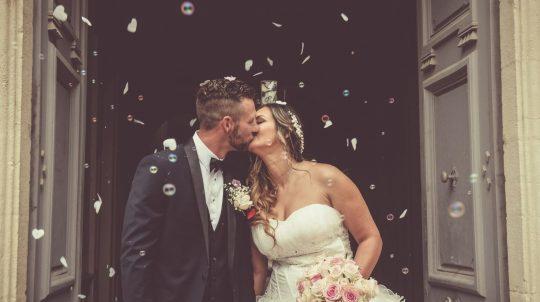 Robe de mariée - Réception de mariage