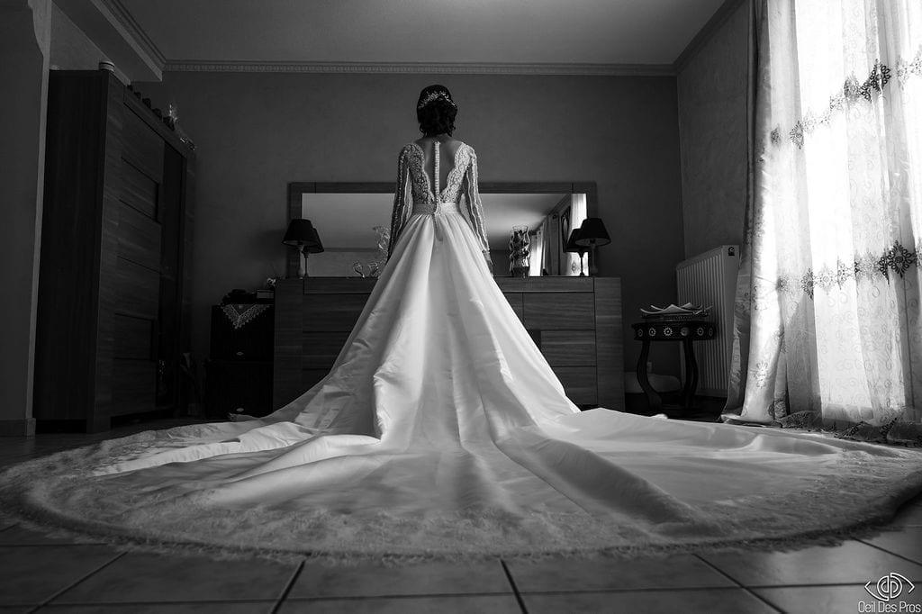 Photographe Mariage Lyon - Oeil Des Pros - Robe de mariée