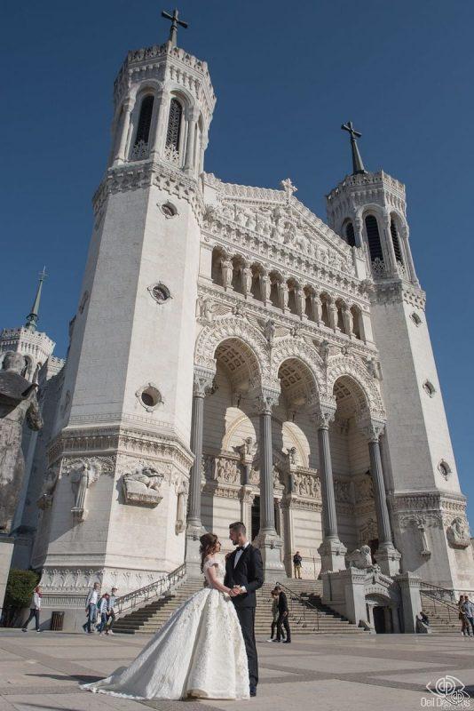 Photographe Mariage Lyon - Oeil Des Pros - La Basilique Notre Dame de Fourvière